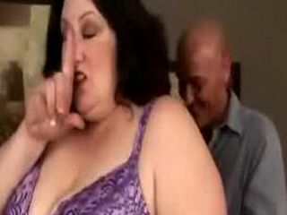 Fat bbw plump lady loves spoiling cocks