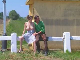 Stupid Busty Village Girl  Promised To Be a Big Movie Star If She Makes This Video