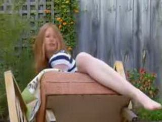 Teen Breaks Chair During Her Orgasm