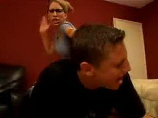 Mad Stepmom Try To Beat Husbands Older Son 3x