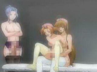 Bondage hentai nurse pussy and ass