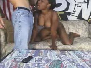 Amateur Black Girl Blows And Gets Her Pussy Pounded