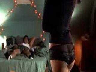 Celeb lauren cohan nude showing her bare breasts in movie
