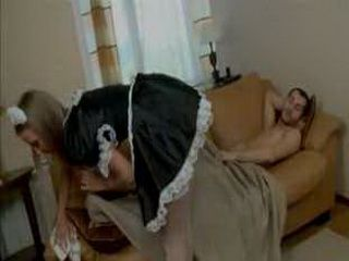 Young Master Anal Fucked His Parents Maid