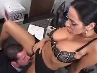Milf Boss Sexually Abuse Employer In Her Office 3x