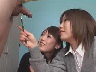Schoolgirls Penis Examination CFNM