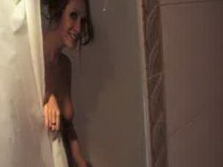 Hot Brunette GF Showers