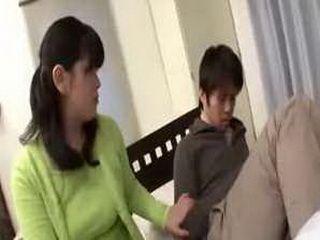 Japanese Movie 45 Mon & Son Friend's Mother xLx