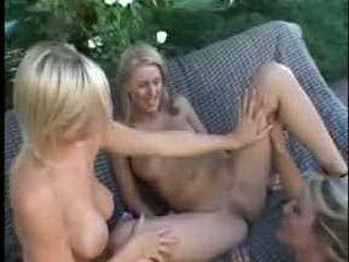 HOT Pornstar Lesbian Threesome