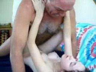 Grandpa Creampies A Whore
