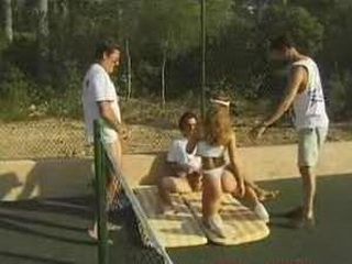 hot and wet tennis anal