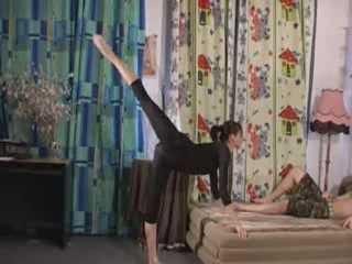Gymnastic Stretching-Kamasutra Fucking