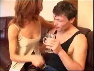 Attractive Skinny English Mom Seduced Sons Best Friend