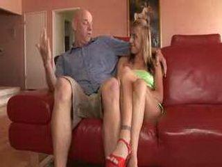 Blonde Teen Knows What Old Man Desires