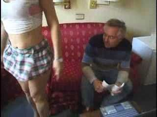 Girl Seduces Old Man On Job Interview
