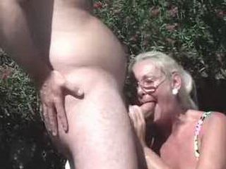 Sexy Old Granny Likes To Be Double  Fucked