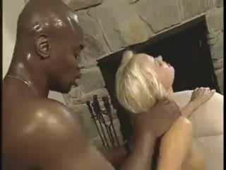 Big Black Dick Plow Wet Blondes Pussy
