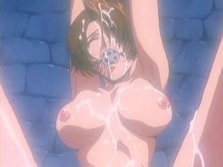 Hentai prisoner girl in chains gets fucked by a knight down in the slave chamber