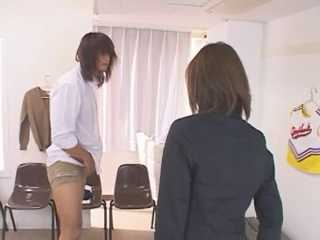 Japanese Teacher Caught Student Jerking On Her Class