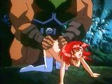 Princess hentai cutie hard fucked by monster in the forest