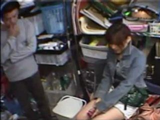 Japanese Girl Will Do Anything To Keep Her Job