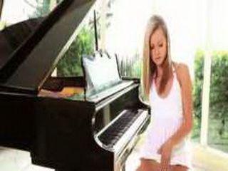 The Piano Lesson Solo Girl