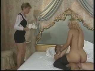 Retro French Threesome