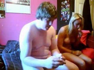 Lucky Fat Guy Fingers A Hot Teen