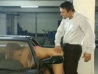 Daddys Little Girl Gets Fucked On Parking Lot