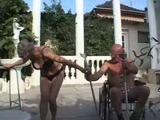 Grandma Sucks One And Fucks Another Dick