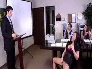 big tits at work eva angelina