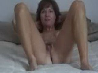 Sexy mature gets doggystyled and creampied