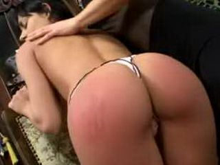 Spanked Red Ass Finger xLx