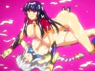 Busty hentai with cum in all her body hot fucking by shemale anime