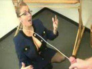 Teacher gives student a cumshot facial
