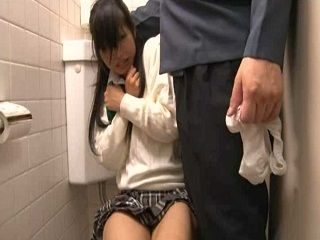 Japanese Girl Should Lock Toilet Door