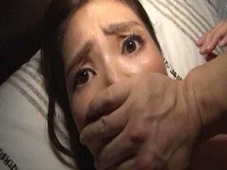 Japanese Mom Surprised In Her Bedroom