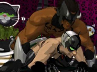 Anime gay batman hardcore ass fucks