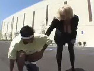 Milf Found Hurt Boy On The Street