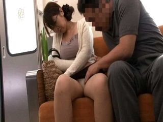Sleepy MILF Groped On A Bus