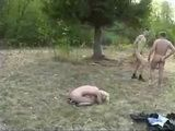 Mature Russian Woman Gets Fucked Outdoor By 2 Guys - Fuck Fantasy