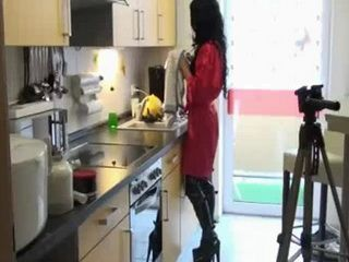 Homemade Action In Kitchen
