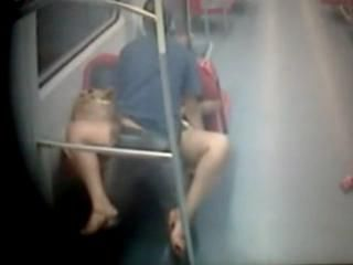 Sex in the subway, night in the big city