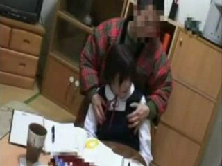 Perverted Private Teacher Is Willing To Give Valuable Lessons To A Schoolgirl