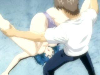 Hentai mom hot sucking stiff cock and fingering pussy