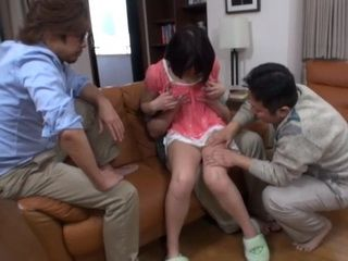 Step Daddy Shares His Cute Step Daughter With His Friends