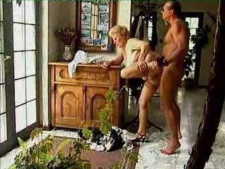 Cheating Granny Fucks First Neighbor