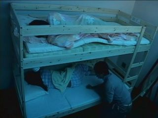 Sleeping Elder Sister Gets Fucked While Little One Is Sleeping in Top Floor Bed