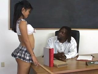 Coed Asian Schoolgirl Fucked By Black Teacher With Huge Cock