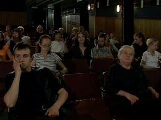 A Hard Sex In The Public Cinema
